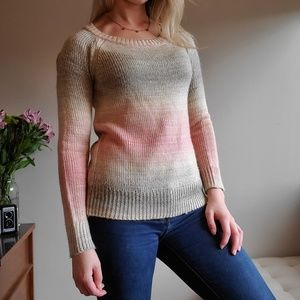 Pastel Soft Knit Sweater